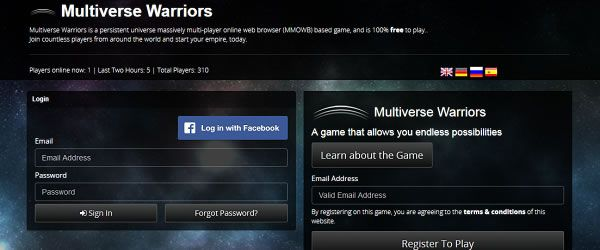 Multiverse Warriors Game preview